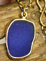 Custom sea glass jewelry