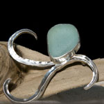 Sea Glass Brooch