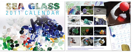 2011 Sea Glass Calendar